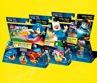 Lego Dimensions - Level Packs