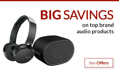 Black Friday - save on top brand audio products