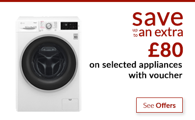 Black Friday - save up to an extra £100 off appliances with voucher