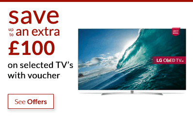 Black Friday - save up to an extra £100 off TV's with voucher