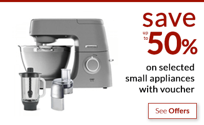 Black Friday - save up to 50% on small kitchen appliances