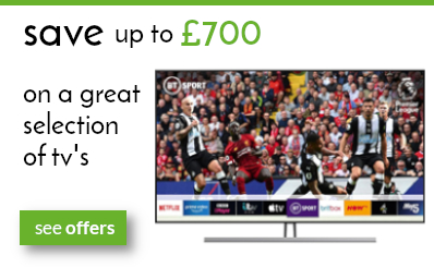 save up to £700 on selected tv's